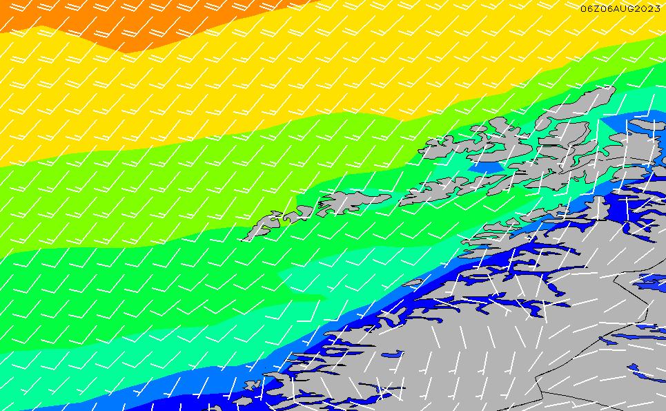 2021/1/21(木)13:00風速・風向
