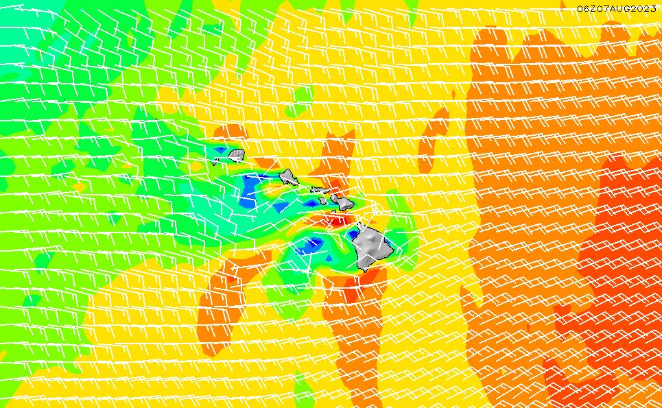 LOLA画像風速・風向