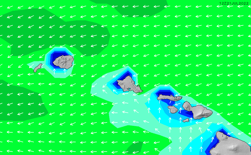 2021/3/3(水)22:00波高チャート