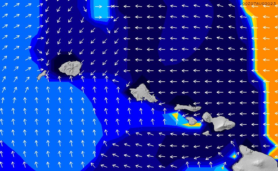 2021/3/3(水)22:00ポイントの波周期