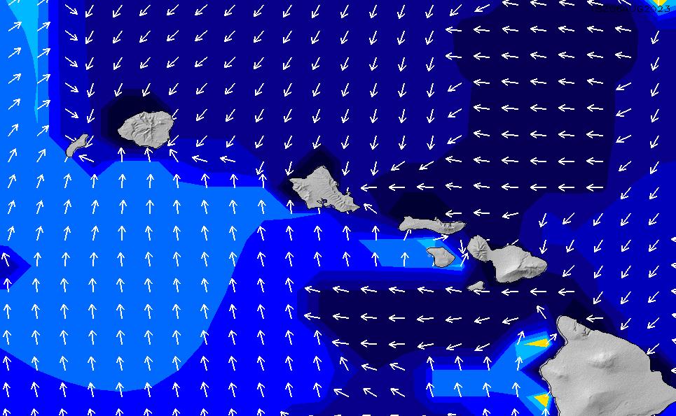 2021/3/4(木)22:00ポイントの波周期