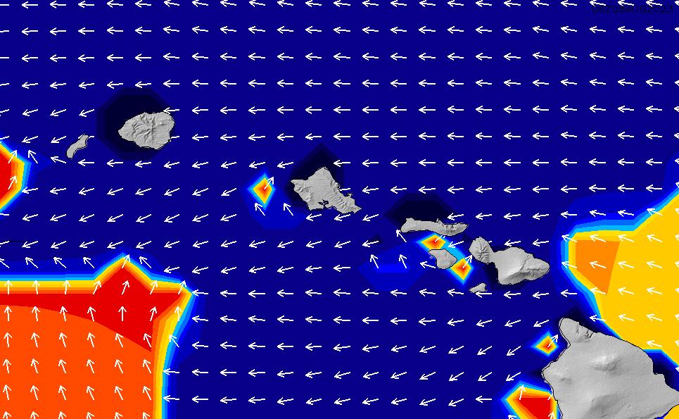 2021/2/26(金)22:00ポイントの波周期