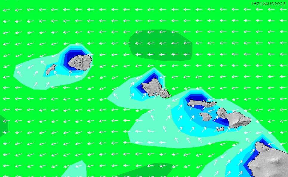 2021/9/21(火)16:00波高チャート
