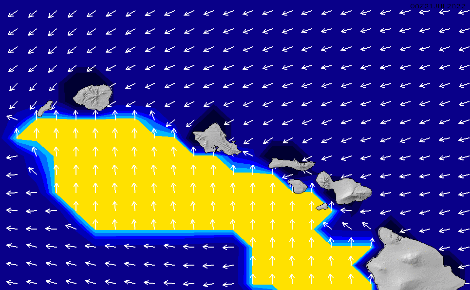 2021/3/2(火)16:00ポイントの波周期