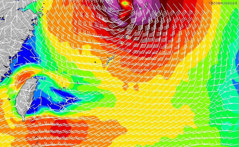 2020/1/29(水)15:00風速・風向