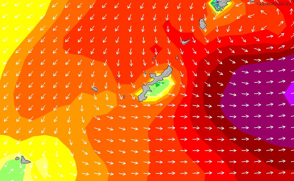 2020/1/29(水)15:00波高チャート