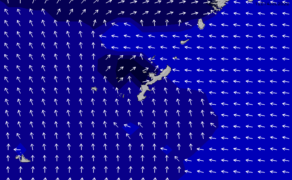 2020/1/29(水)15:00ポイントの波周期