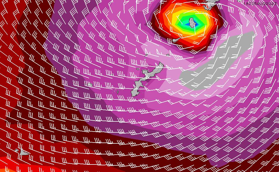 2021/2/28(日)15:00風速・風向