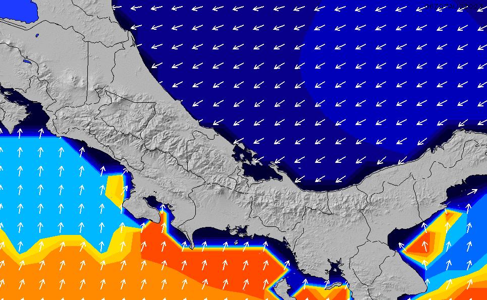 2020/9/23(水)23:00ポイントの波周期