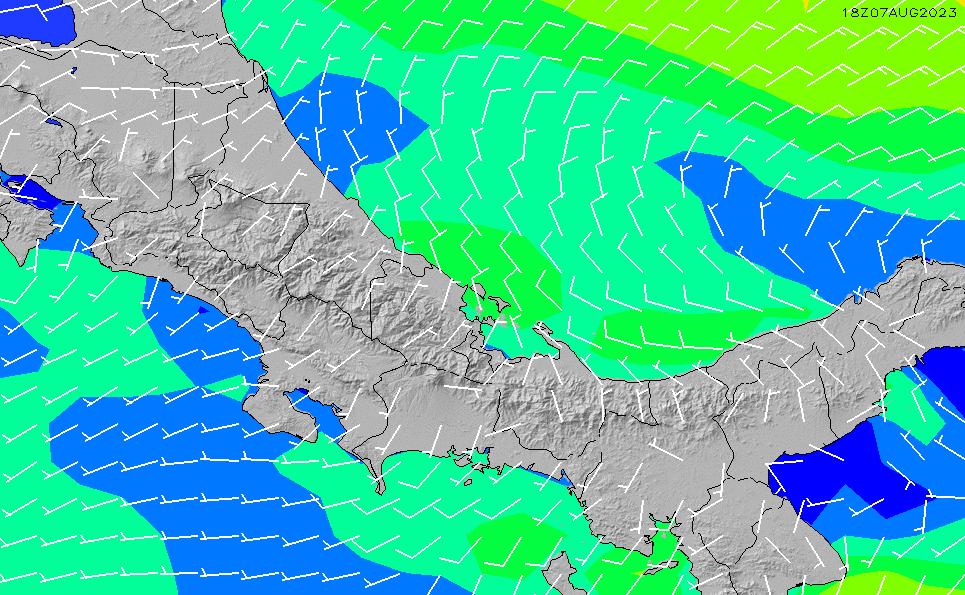 2021/3/3(水)17:00風速・風向