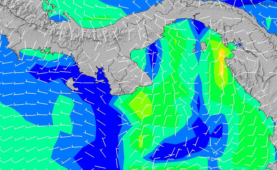 2020/4/2(木)5:00風速・風向