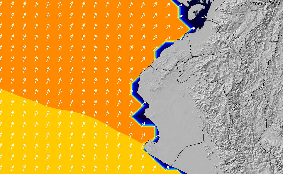 2021/6/15(火)17:00ポイントの波周期