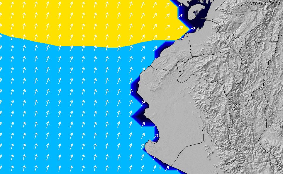 2021/3/8(月)11:00ポイントの波周期