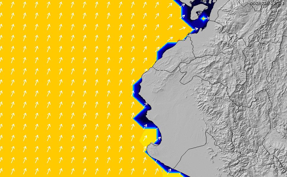 2021/4/12(月)17:00ポイントの波周期