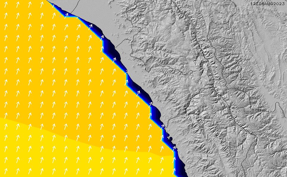 2021/5/12(水)11:00ポイントの波周期