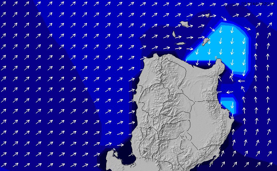 2020/9/24(木)8:00ポイントの波周期