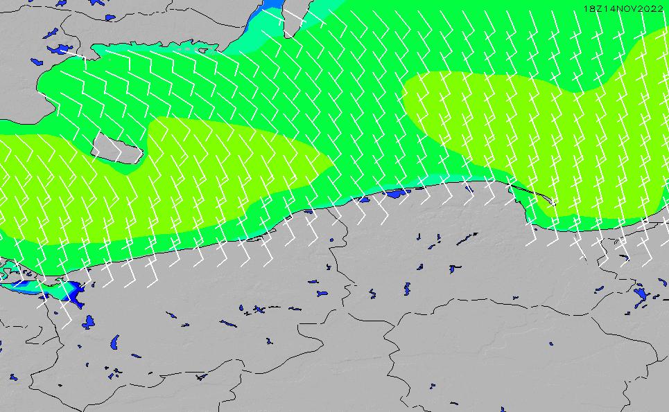 2020/7/12(日)2:00風速・風向