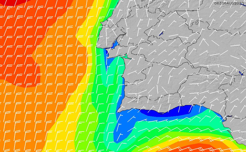 2021/5/11(火)13:00風速・風向