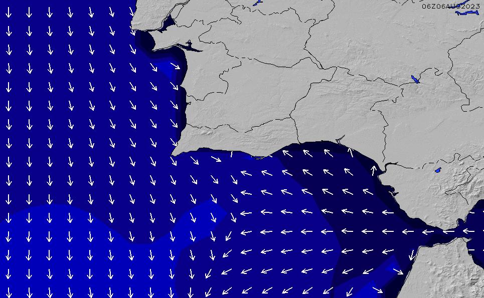 2021/7/24(土)19:00ポイントの波周期