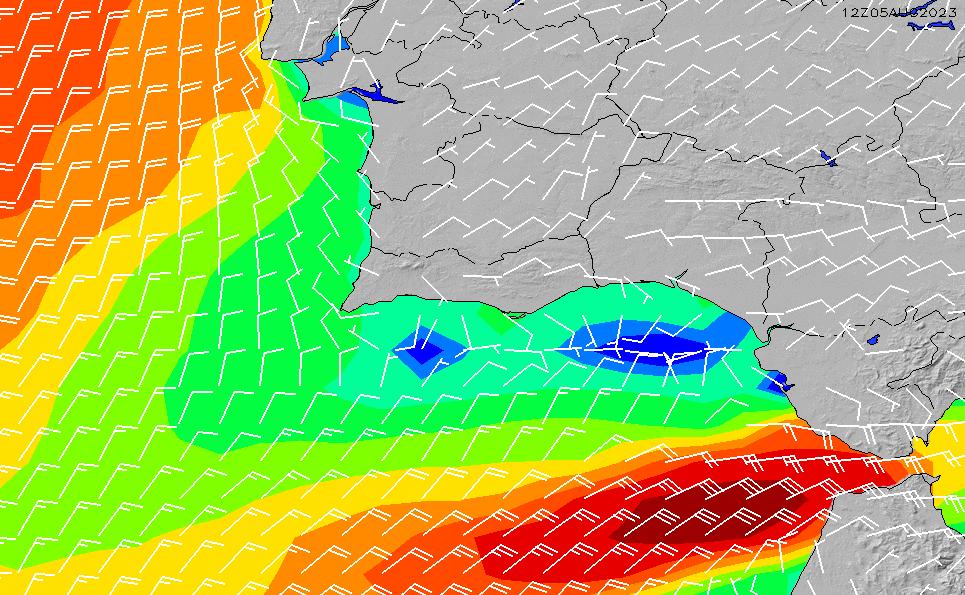 2021/1/27(水)0:00風速・風向