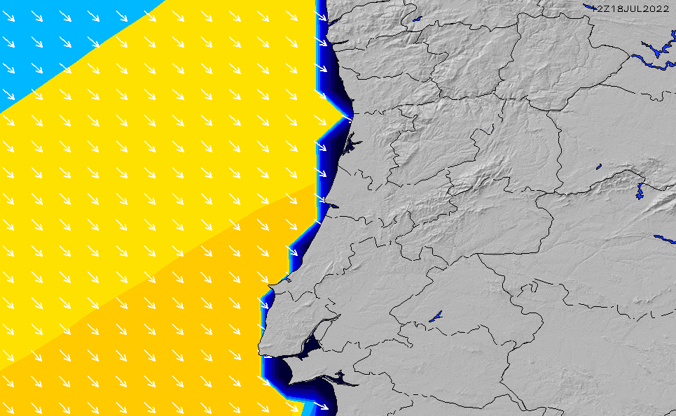 2021/3/2(火)18:00ポイントの波周期