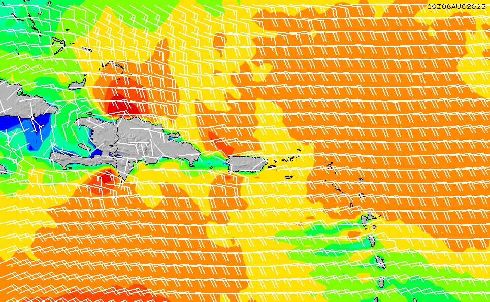 2020/3/31(火)4:00風速・風向