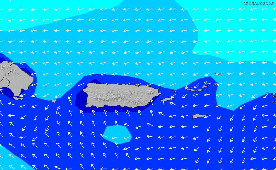 2021/3/6(土)4:00波高チャート