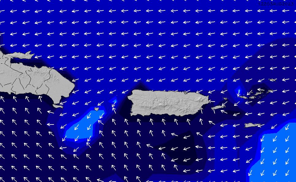 2021/1/17(日)22:00ポイントの波周期