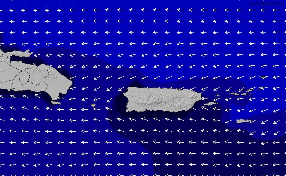 2020/8/5(水)4:00ポイントの波周期