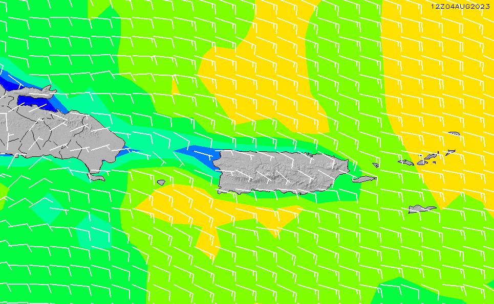 2020/8/5(水)4:00風速・風向