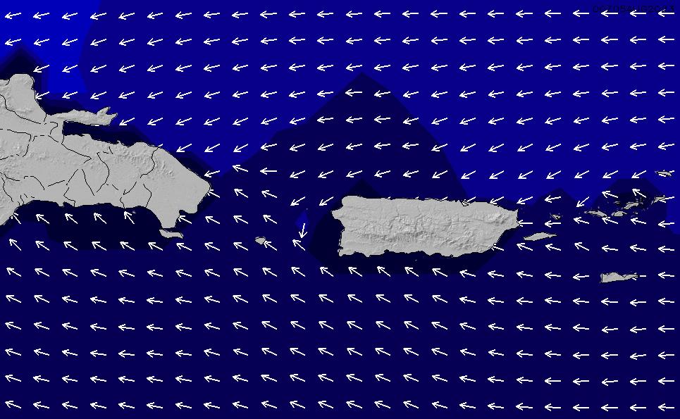 2021/4/17(土)22:00ポイントの波周期