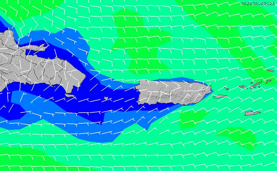 2021/4/17(土)22:00風速・風向