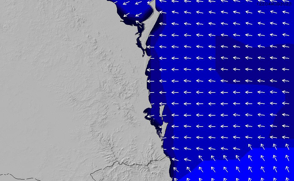 2021/3/10(水)16:00ポイントの波周期