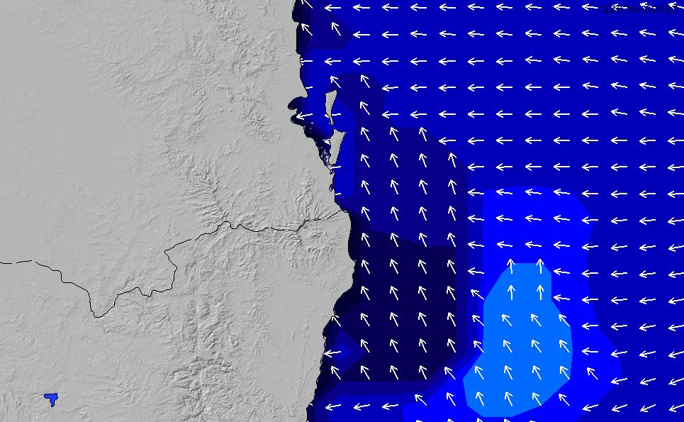2021/3/3(水)4:00ポイントの波周期