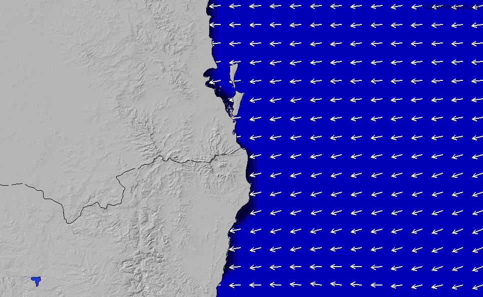2021/4/12(月)22:00ポイントの波周期