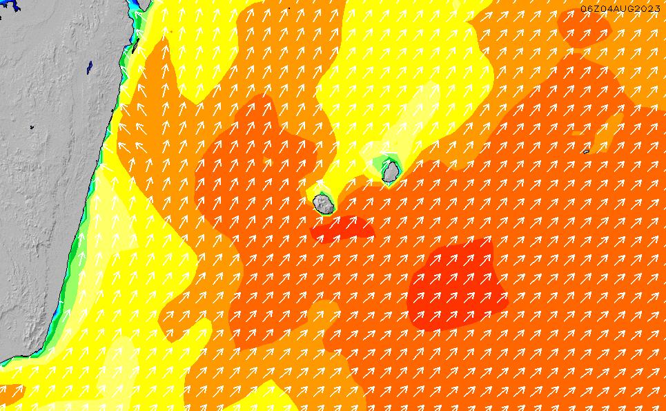 2020/7/15(水)10:00波高チャート