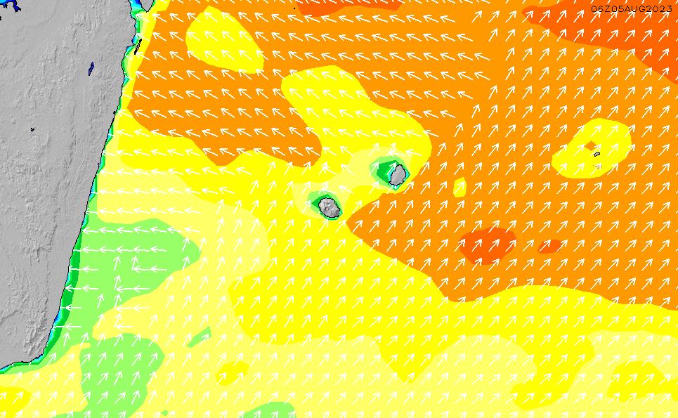 2020/7/3(金)16:00波高チャート