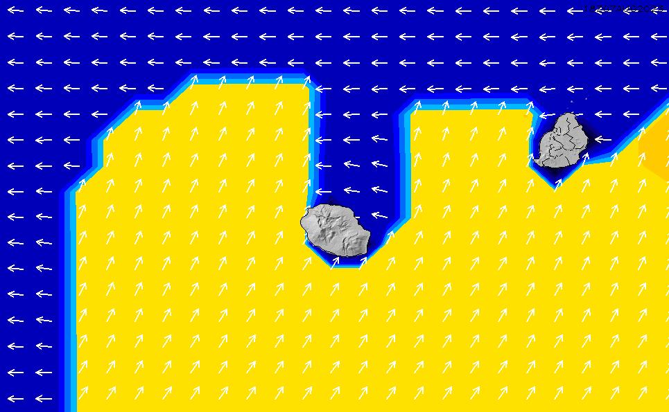 2021/7/27(火)22:00ポイントの波周期