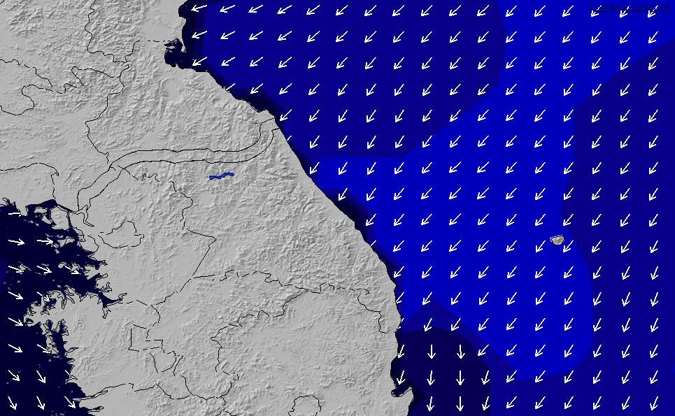 2021/3/3(水)3:00ポイントの波周期