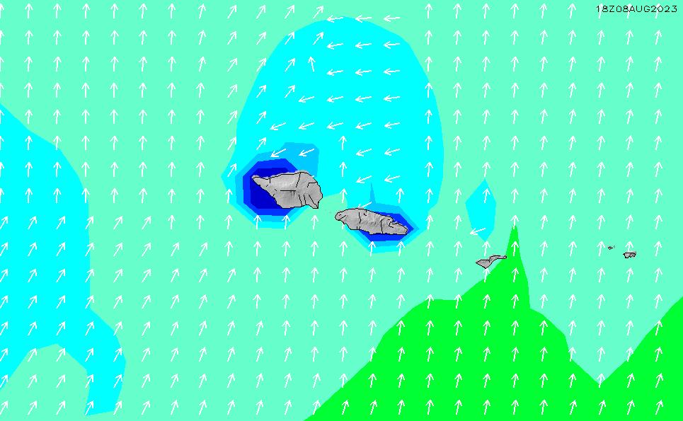 2020/4/3(金)2:00波高チャート