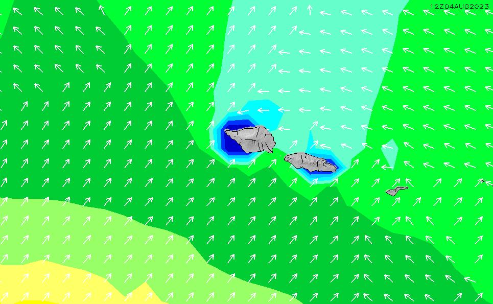 2020/9/26(土)19:00波高チャート