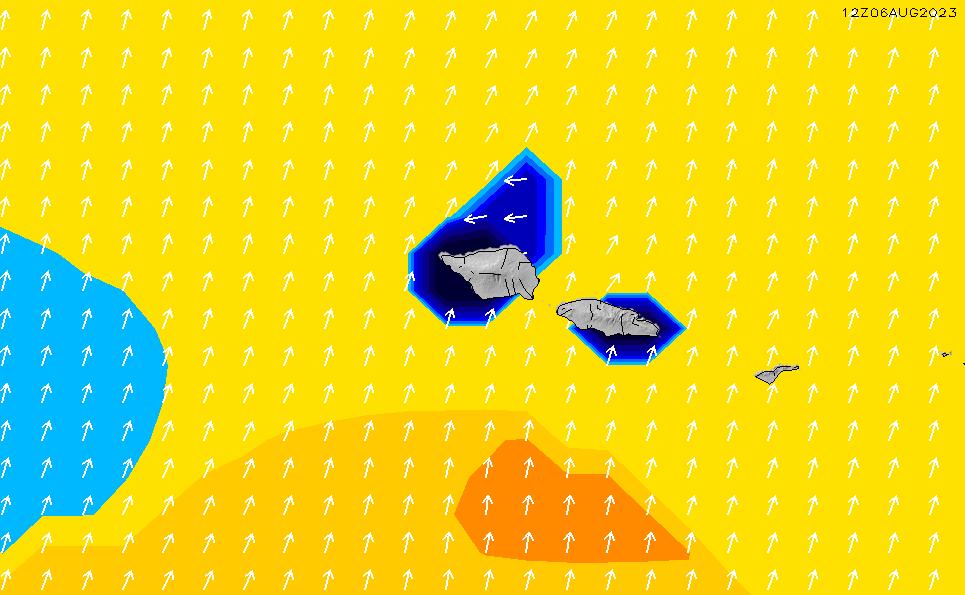 2021/3/6(土)14:00ポイントの波周期