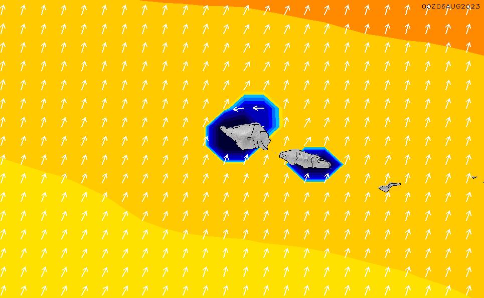 2021/3/8(月)20:00ポイントの波周期
