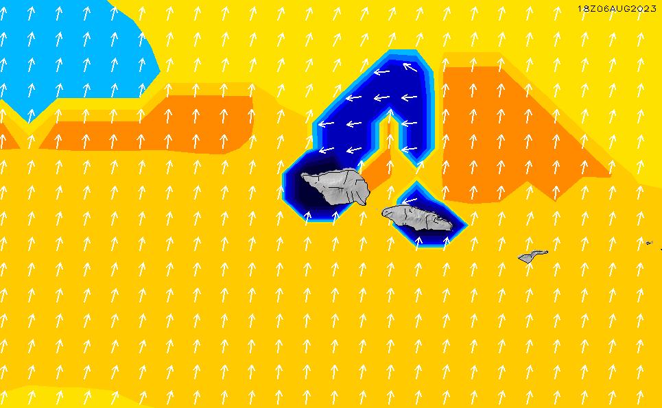 2020/7/7(火)19:00ポイントの波周期