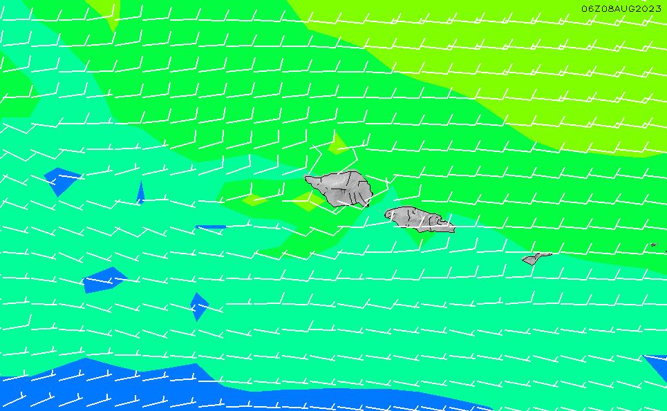 2020/9/26(土)19:00風速・風向