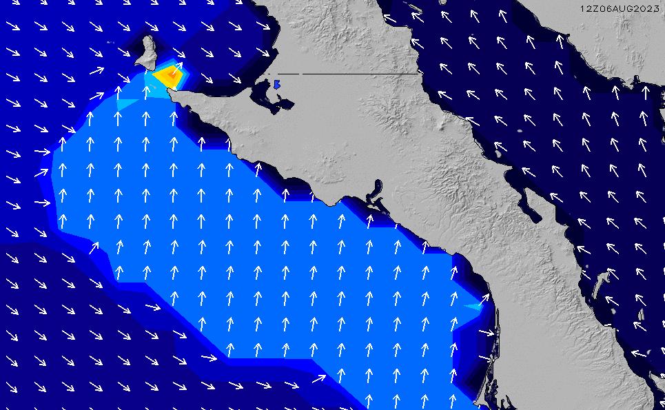 2021/5/12(水)12:00ポイントの波周期