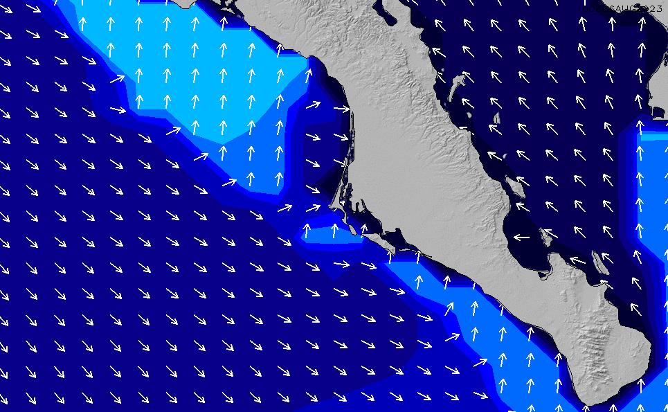 2021/3/3(水)19:00ポイントの波周期
