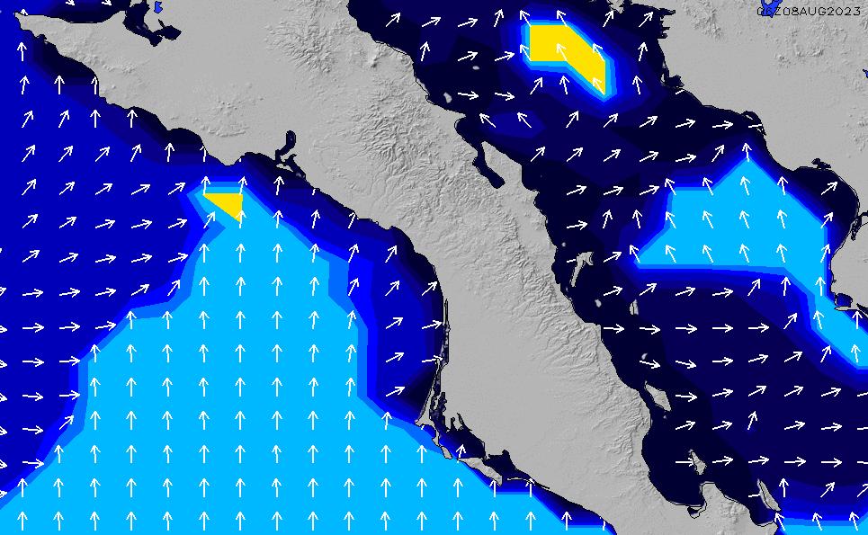2021/9/22(水)12:00ポイントの波周期