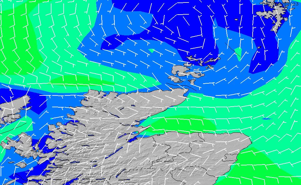 2020/9/20(日)13:00風速・風向