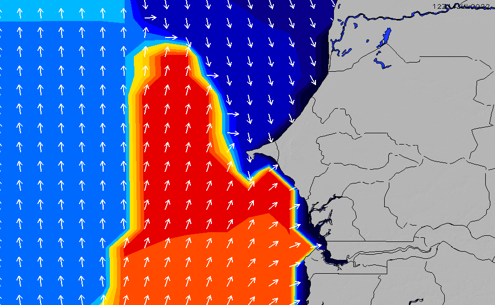 2021/6/16(水)18:00ポイントの波周期